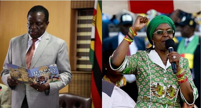 MNANGAGWA REMOVED; GRACE MUGABE CLEARED TO ASCEND