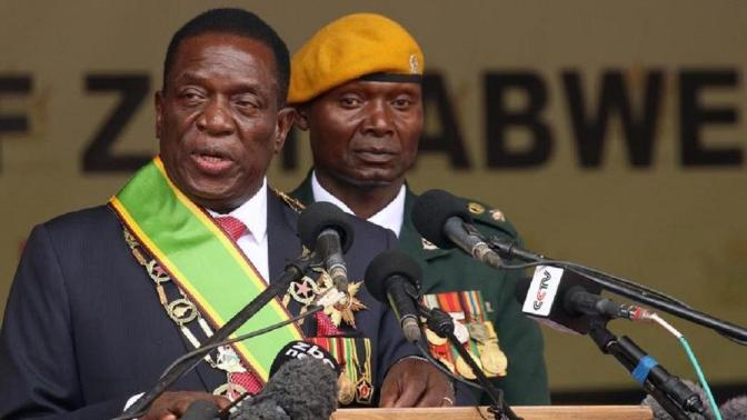 EMMERSON DAMBUDZO MNANGAGWA, ZIMBABWE'S PRESIDENT