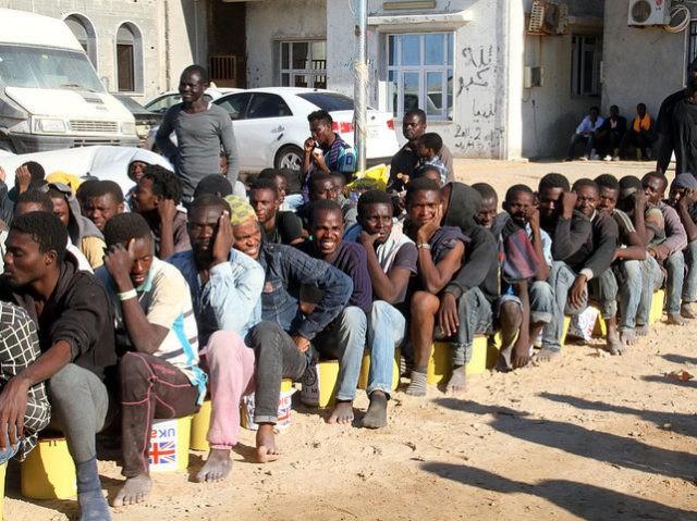 MODERN DAY SLAVE TRADE IN LIBYA