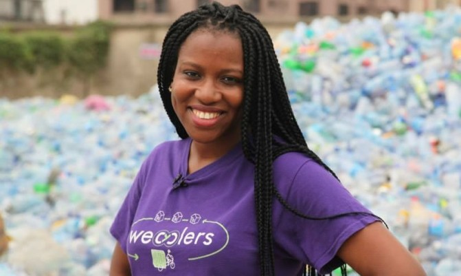 THE LADY BEHIND WECYCLERS