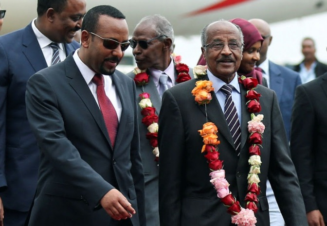 """ERITREA AND ETHIOPIA """"OPEN DOOR OF PEACE"""" AFTER FIRST TALKS IN 20 YEARS"""