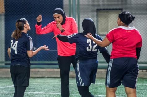 Egyptian female footballers 2