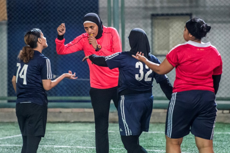 Egyptian female footballers 2