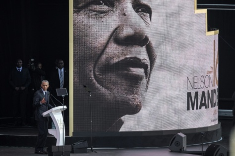 Obama Mandela Tribute Lecture