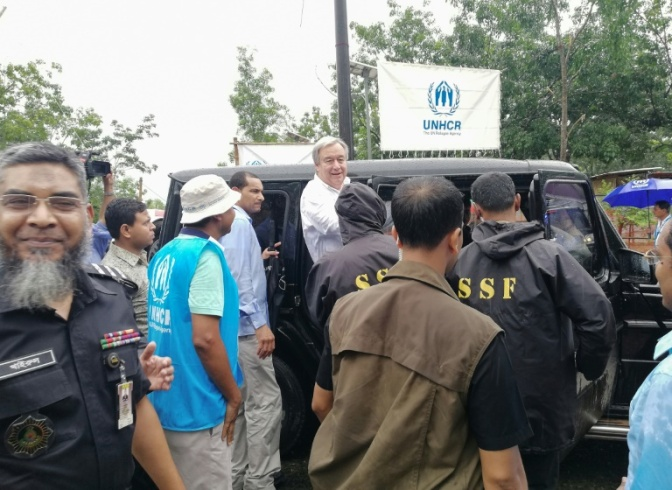 UN CHIEF HEARS OF UNIMAGINABLE ATROCITIES AS HE VISITS ROHINGYA CAMPS