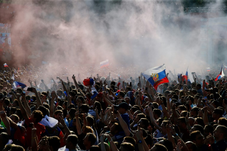 Russians Celebrate 2