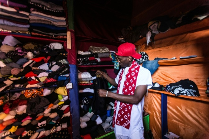 LOCALS LOSE OUT IN RWANDA'S SECOND HAND CLOTHING