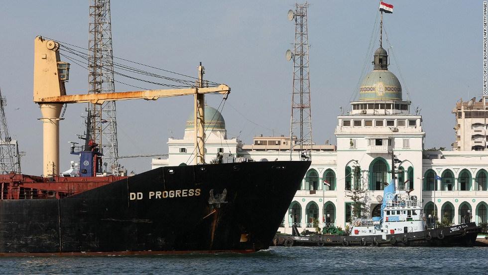 Port-Said-in-Egypt